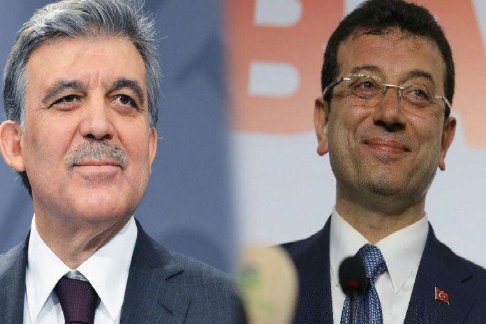 İmamoğlu ve Abdullah Gül'den dikkat çeken görüşme
