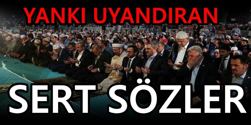 AKP'de büyük çıkış! Erdoğan'a sert sözler
