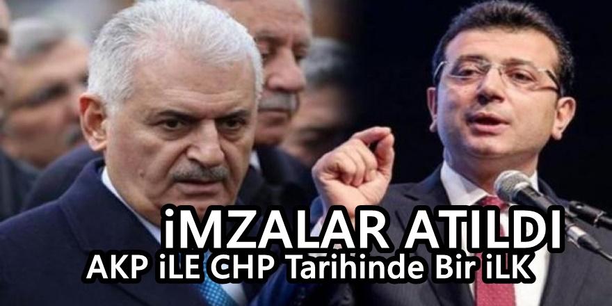 İşte AKP ve CHP arasında imzalanan tarihi protokol