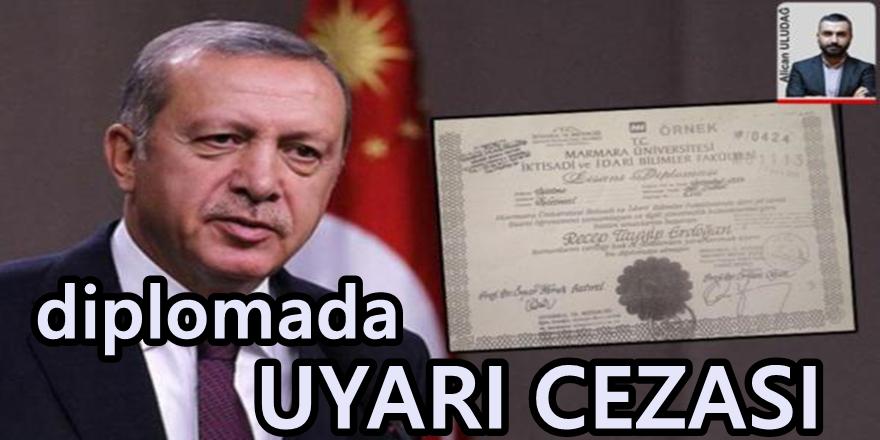 Erdoğan'ın diplomasının fotokopisini onaylayan notere ceza