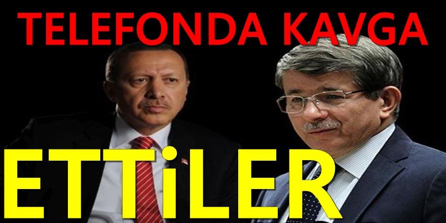 Erdoğan ve Davutoğlu'yla ilgili Şok iddia: Kavga ettiler