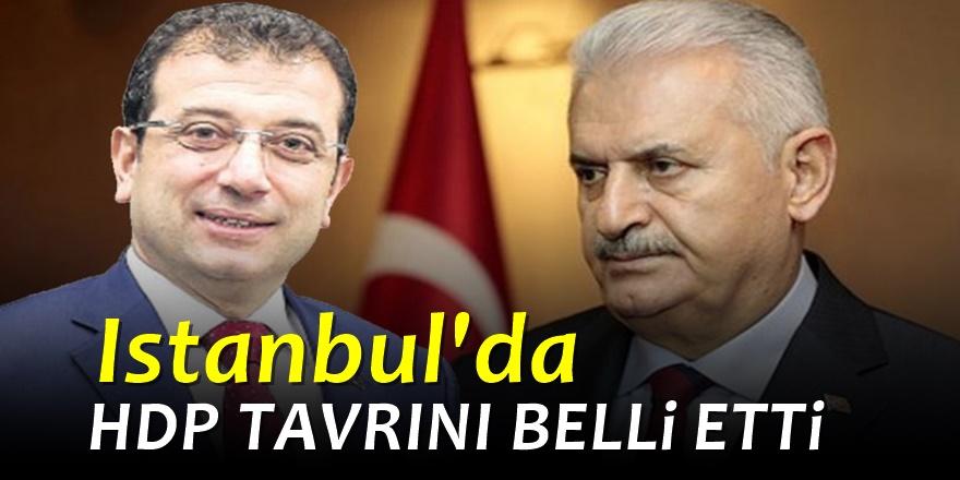 HDP'den Seçime 9 Kala İstanbul Açıklaması