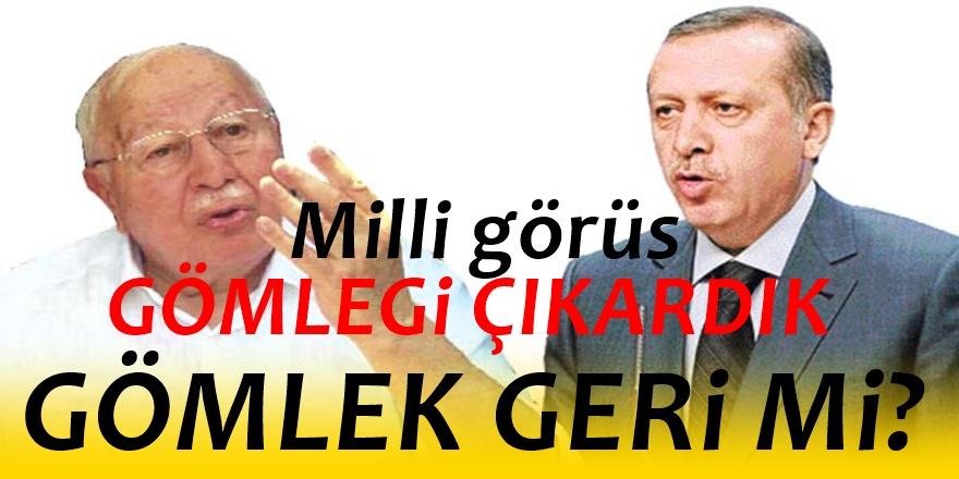 Seçime 6 gün kala Erdoğan'dan 'Milli Görüş' hamlesi