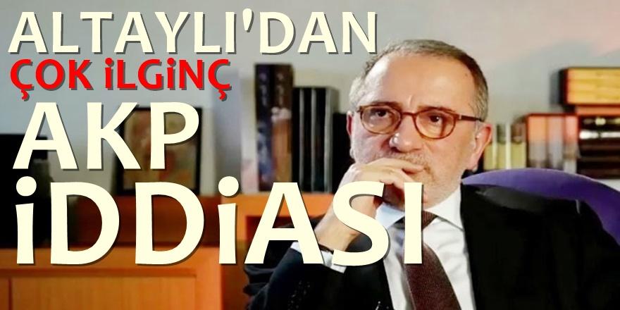 Fatih Altaylı: AK Parti nasıl iktidardan düşecek