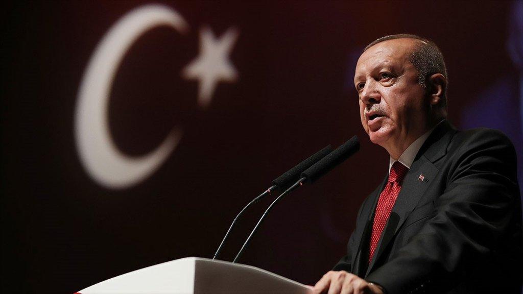 Erdoğan'dan Erzurum Kongresi mesajı