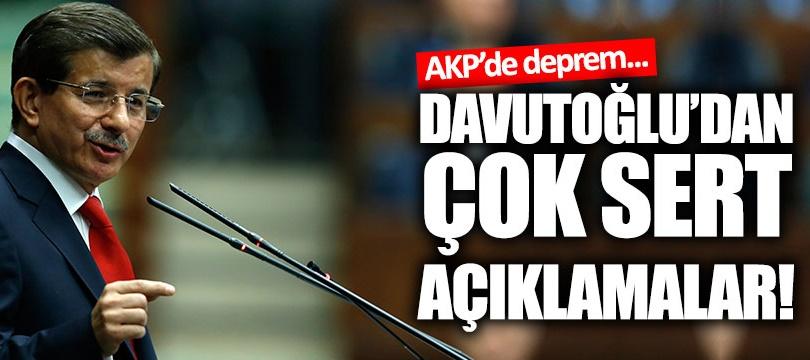 Ahmet Davutoğlu AKP'ye muhalefete başladı