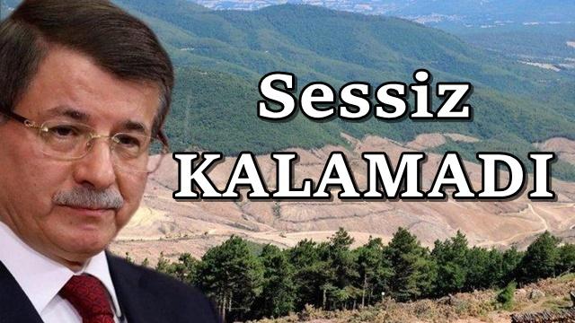 Ahmet Davutoğlu'ndan Kaz Dağları çağrısı