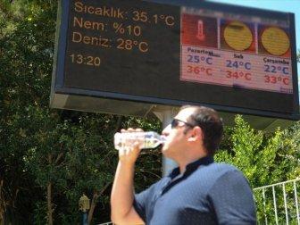 Meteoroloji Genel Müdürlüğünden Sıcak Hava Uyarısı