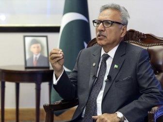 Pakistan Cumhurbaşkanı Alvi'den Hindistan'a Sert Tepki