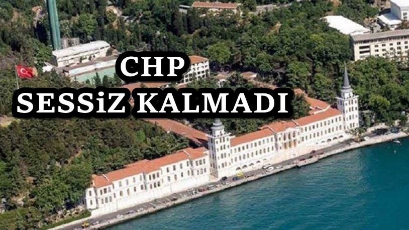 CHP Kuleli Askeri lisesi için harekete geçti