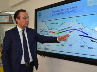 Prof. Dr. Özener: 'Marmara Denizi'ndeki Fayı 7 Gün, 24 Saat İzliyoruz'