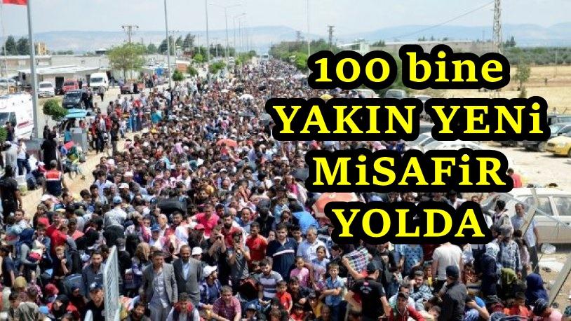 Suriye'den Türkiye'ye yeni göç dalgası başlıyor