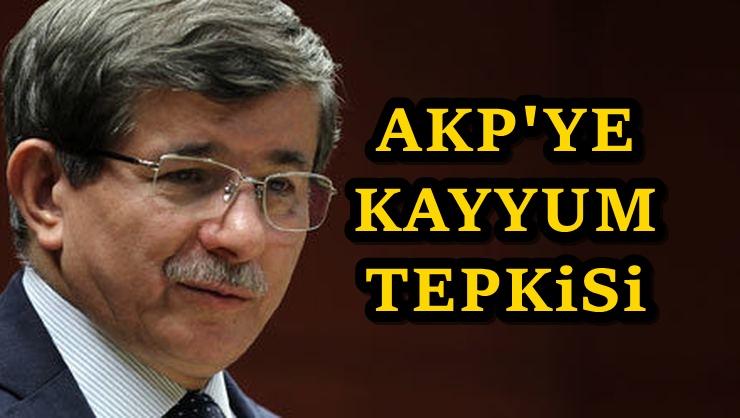 Ahmet Davutoğlu'ndan AKP'ye HDP uyarısı