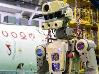 Rusya Uluslararası Uzay İstasyonuna İnsansı Robot Gönderdi