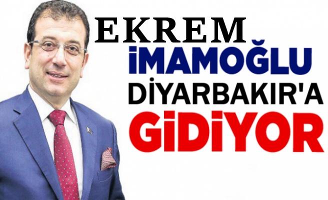 Ekrem İmamoğlun'dan Diyarbakır kararı