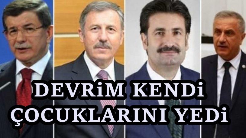 AKP'de Davutoğlu depremi sürüyor : İstifalar peş peşe