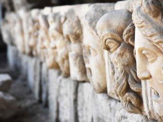2 Bin 200 Yıllık 17 Mask Gün Yüzüne Çıkarıldı
