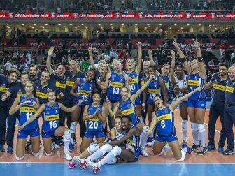 İtalya Kadınlar Avrupa Voleybol Şampiyonası'nda Üçüncü Oldu