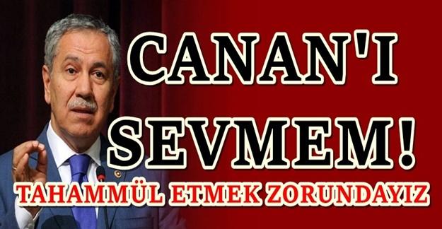 Bülent Arınç'tan çaprıcı 'Canan Kaftancıoğlu' yorumu