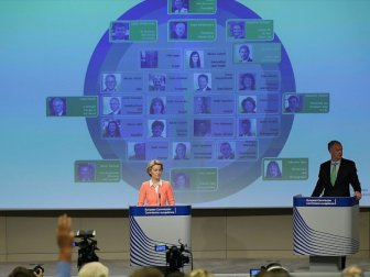 AB Komisyonu Yeni Üyeleri Belirlendi