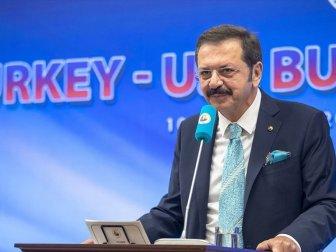 TOBB Başkanı Hisarcıklıoğlu: 'Türkiye-ABD Serbest Ticaret Anlaşması İmzalanmalı'