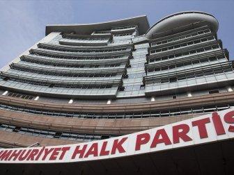 CHP Parti Meclisi Pazar Günü Olağanüstü Toplanacak