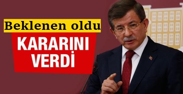 Ahmet Davutoğlu'ndan 'ihraç' hamlesi!