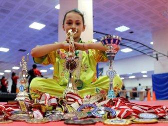 11 Yaşındaki Milli Sporcu Akdemir 7 Yıla 38 Madalya ve 3 Kupa Sığdırdı