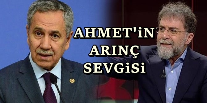Ahmet Hakan'dan Arınç'a övgü yağmuru