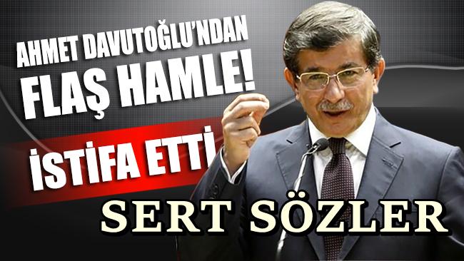 Davutoğlu ekibiyle birlikte AKP'den istifa etti