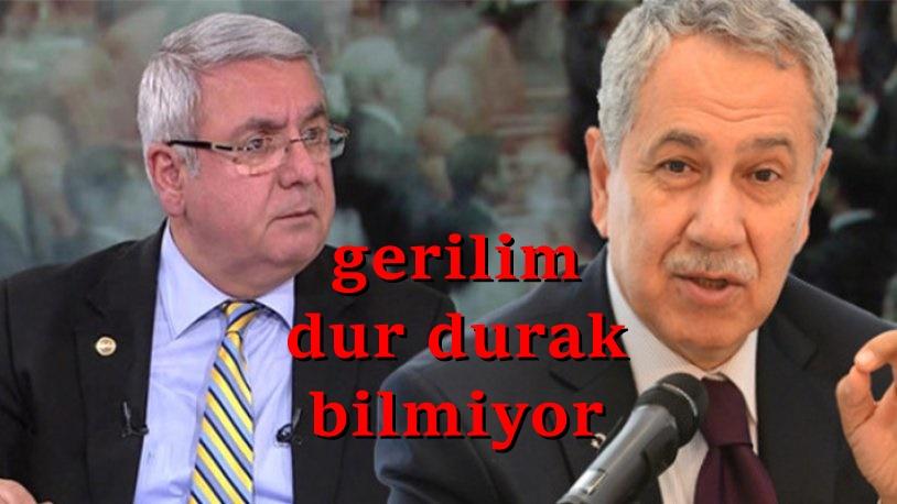 AKP'deki kavga büyüyor! Metiner'den Arınç'a sert tepki