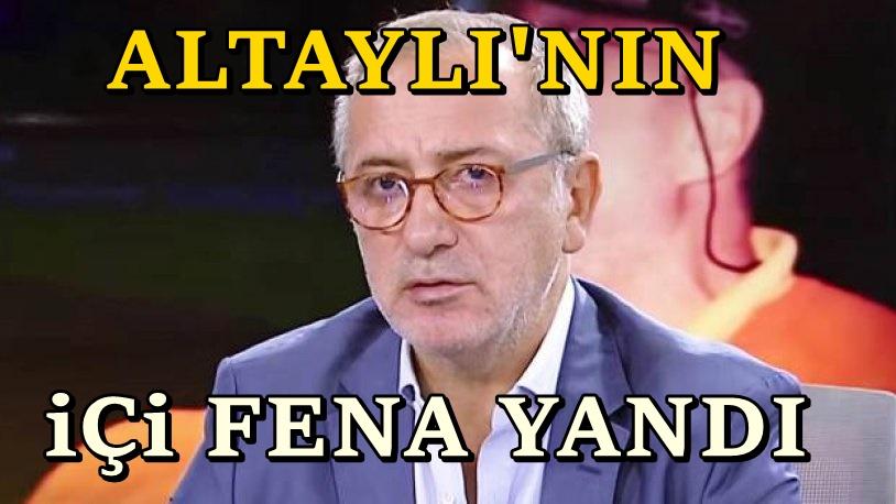 Fatih Altaylı: Şimdi göz yaşları ile bu satırları yazıyorum