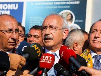 Kılıçdaroğlu: 'Adalet Bakanlığının Fettah Tamince İtirazı Önemli Bir Aşama'
