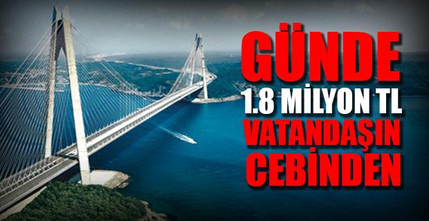 3. Köprü'deki araç garantisi zararını CHP'li vekil açıkladı!