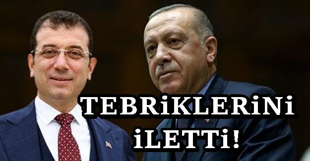 Erdoğan'dan, Yerlikaya ve İmamoğlu'na tebrik telgrafı