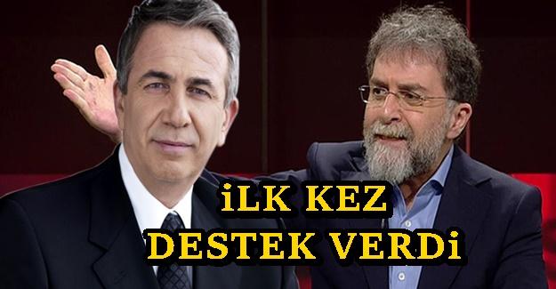 Ahmet Hakan'dan Mansur Yavaş'a şaşırtan destek