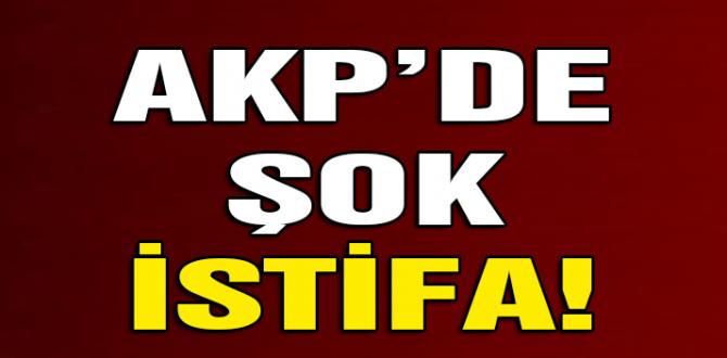 Eski bakan AKP'den istifa etti! Böyle duyurdu