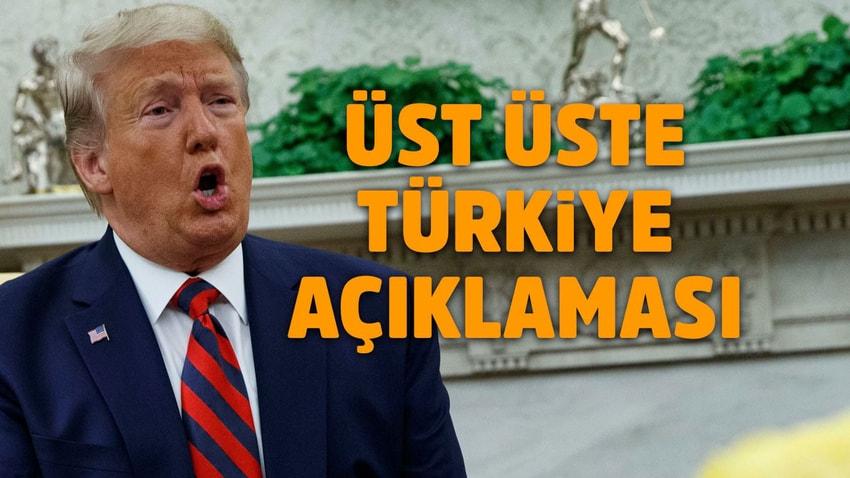 Trump'tan bir Türkiye paylaşımı daha!