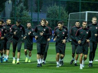 A Milli Futbol Takımı'nın Konuğu Arnavutluk