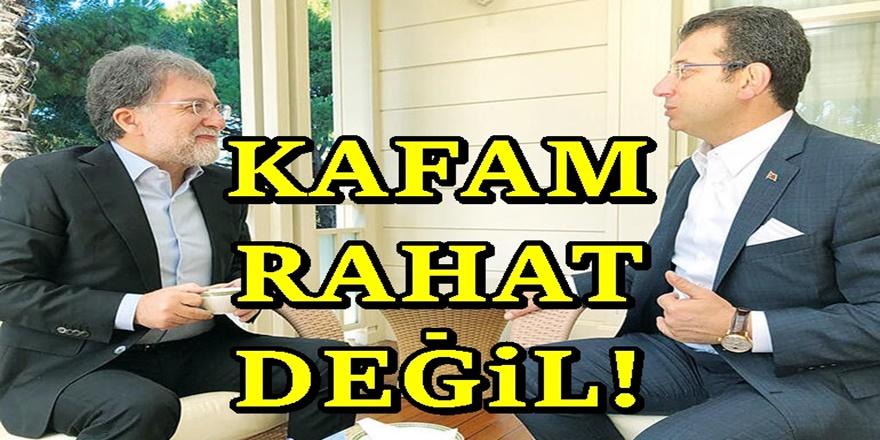 Ekrem İmamoğlu'ndan Ahmet Hakan'a Suriye cevabı