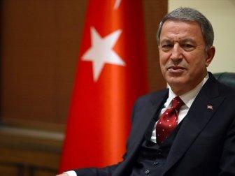 Bakanı Akar: 'Mehmetçik'in Morali Çok Yüksek'