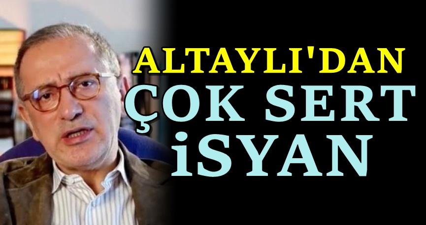Fatih Altaylı'yı da sonunda çileden çıkardılar
