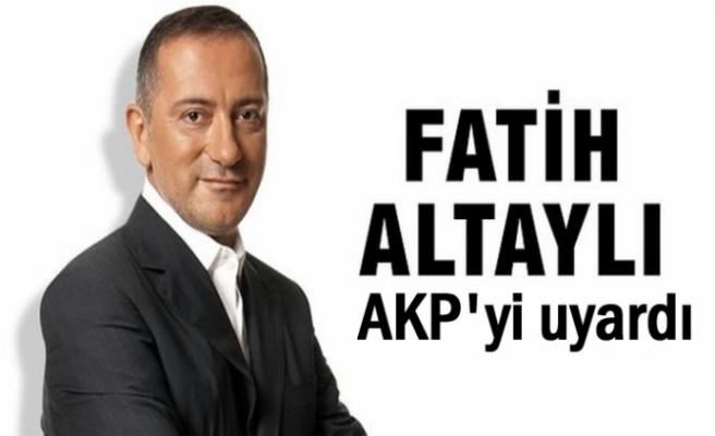 Fatih Altaylı: Sonu pek hayırlı bitmez