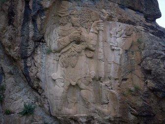 Hitit Mirası 'İvriz Kaya Anıtı' Ziyaretçileri Cezbediyor