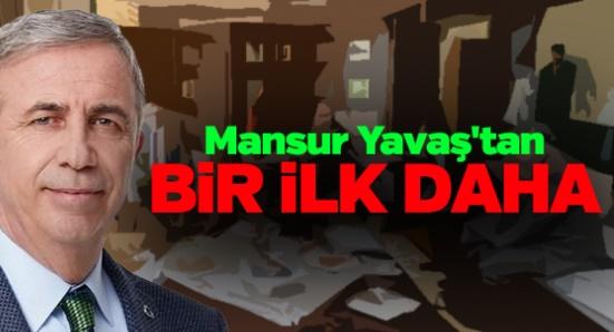 Mansur Yavaş yine farkını gösterdi