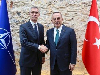 Çavuşoğlu ile Stoltenberg Telefonda Görüştü