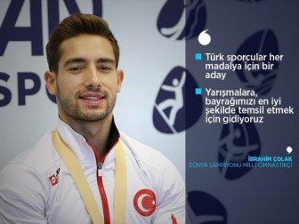 Milli Cimnastikçi Çolak: 'Şimdi Sırada Olimpiyatlar Var'