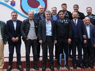 Şenol Güneş'ten Trabzonspor Kulübüne Ziyaret