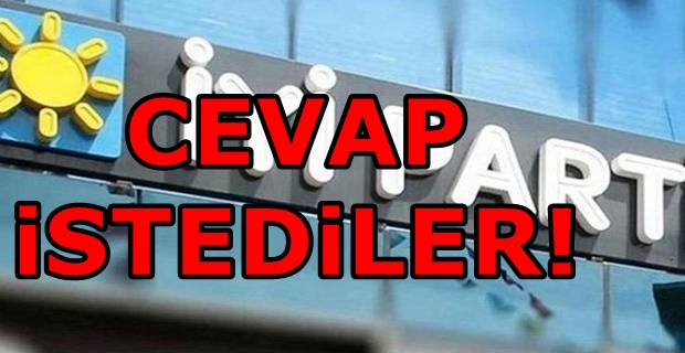 İYİ Parti'den AKP'ye kritik sorular!