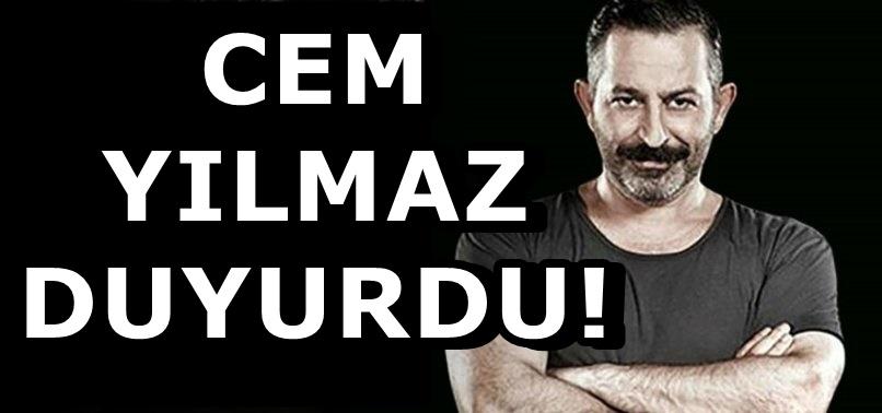 Cem Yılmaz, Erdoğan'ın davetine katılmayacak! Nedeni belli oldu...